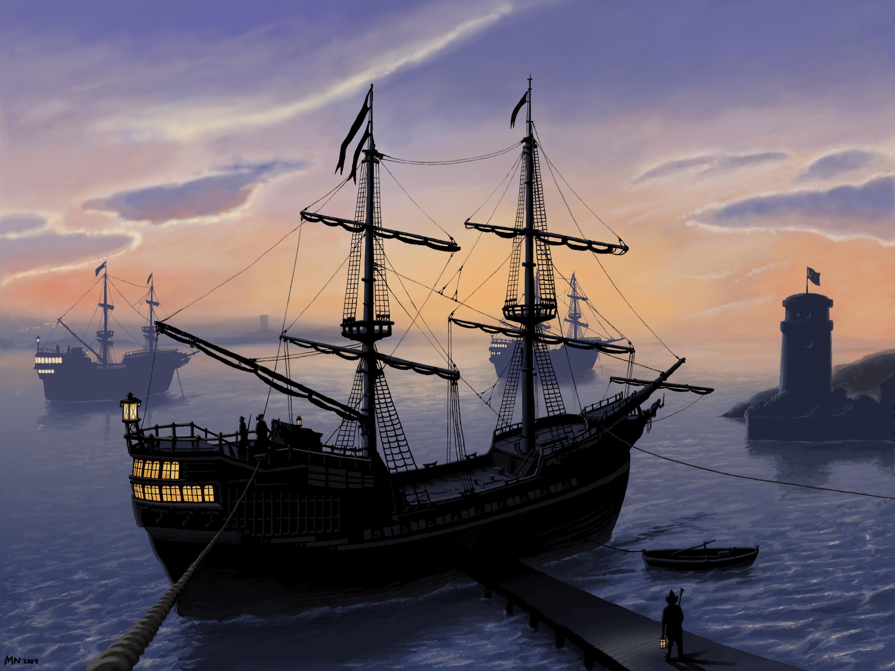 Hafenschiffe